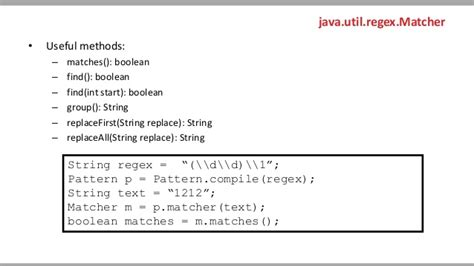java pattern match line regular expressions