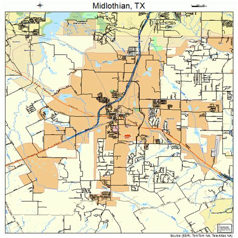 best place to buy a house in texas midlothian texas map my blog