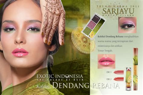 Harga Sariayu Liquid Eyeshadow look of sariayu indonesia the colors of asia