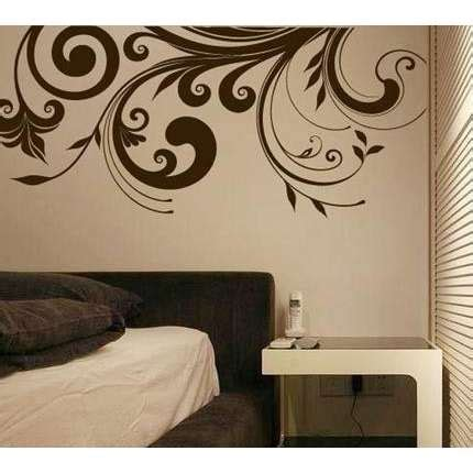 retro flower wall art home decor murals vinyl decals popdecal heart flowers valentine stickers decal transfers ebay