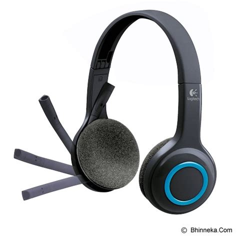 Headphone Untuk Pc Jual Logitech Wireless Headset H600 981 000504 Murah