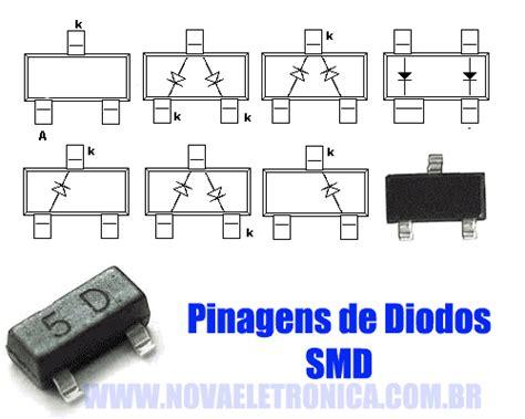 diodos smd tabela de codigos