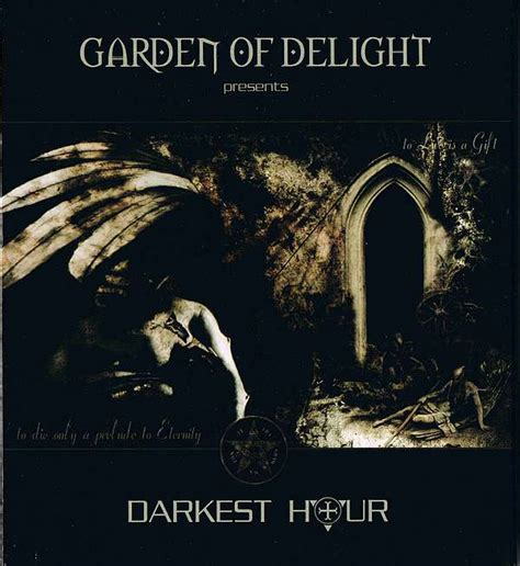 darkest hour discography garden of delight darkest hour cd album at discogs