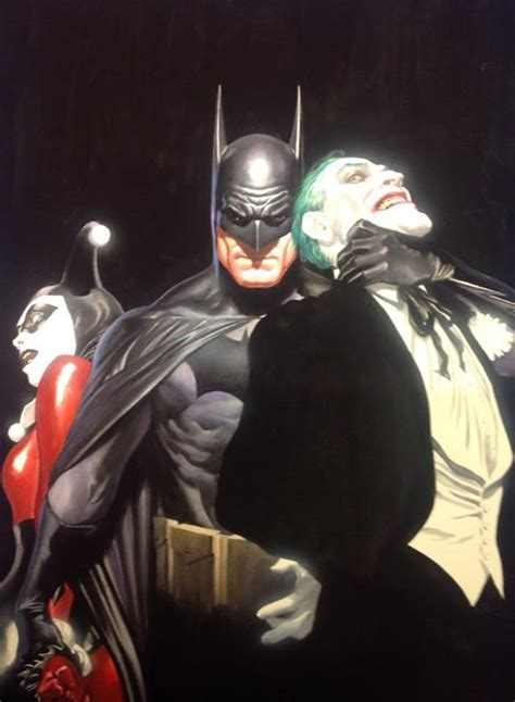 New Wig Harley Squad Justice League Joker superheroes superstars the works of alex ross norman rockwell museum the home for