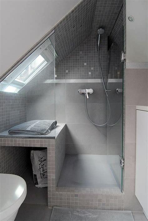 unter dem meer badezimmer modernes bad unter dem dach dusche bathroom decorating