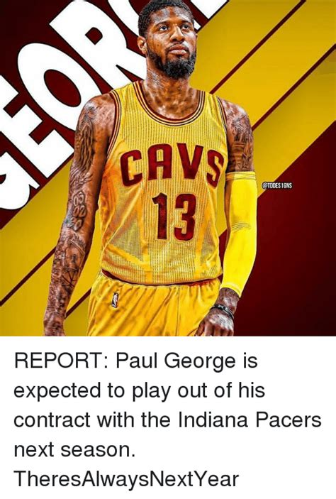 Pacers Meme - cavs otodesigns report paul george is expected to play out