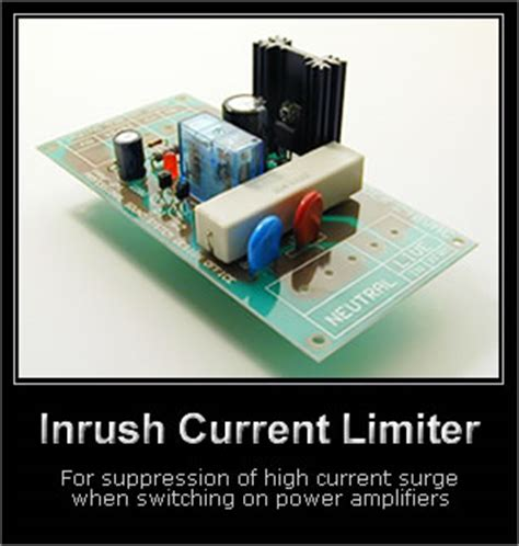 current limiting resistor transformer inrush current limiter audio kits by slab