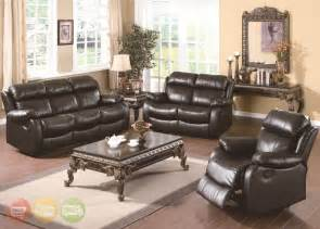 Leather Livingroom Sets black leather living room set modern house