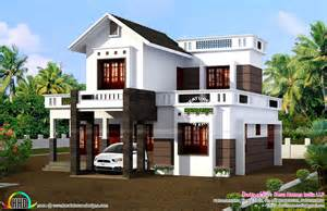 Simple Home Simple 1524 Sq Ft House Plan Kerala Home Design And