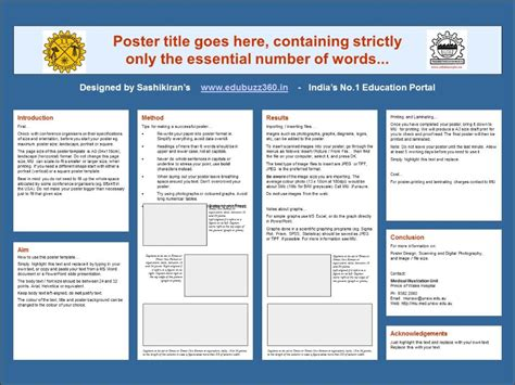 templates powerpoint size powerpoint poster template a3 size images powerpoint