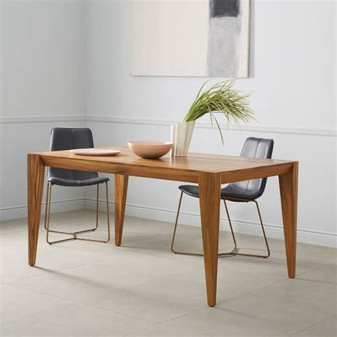 west elm dining tables solid wood dining table acacia west elm