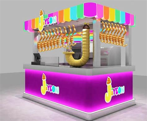 desain gerobak ice cream booth ice cream unik jasa pembuatan booth stand display toko