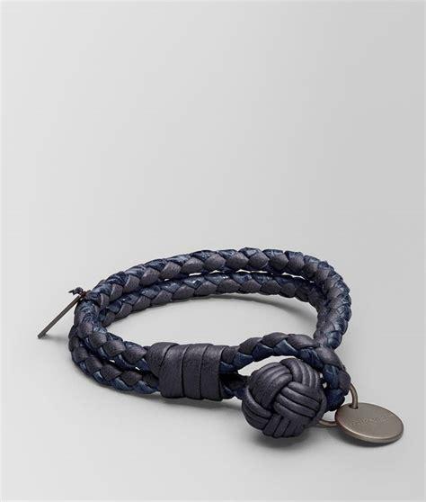 Bottega Veneta Bracelet bottega veneta 174 bracelet in tourmaline intrecciato nappa