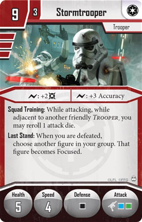 Imperial Assault Deployment Card Template by Command The Empire Flight