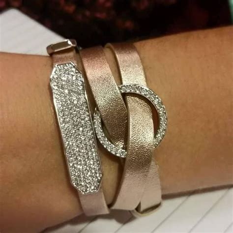 Origami Owl Gold Bracelet - wrap bracelet from origami owl in gold no