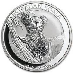 Australian Koala Silver Coin 2016 2016 australian koala 1 ounce silver coins