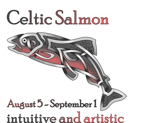 salmon tattoo designs celtic salmon by knotyourworld on deviantart celtic
