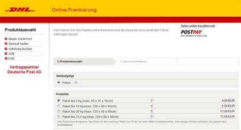 Adressaufkleber Drucken Post by Paket Online Frankieren So Geht S Chip