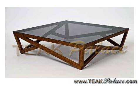 Tempat Tidur Kayu Jati Bekasi meja kotak kaca modern kayu jati bekasi murah harga murah