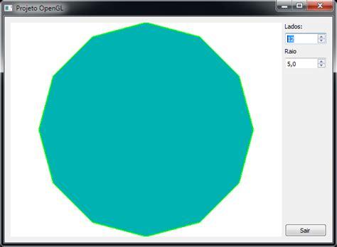 opengl tutorial in qt criando uma aplica 231 227 o opengl com o qt creator marcio bueno