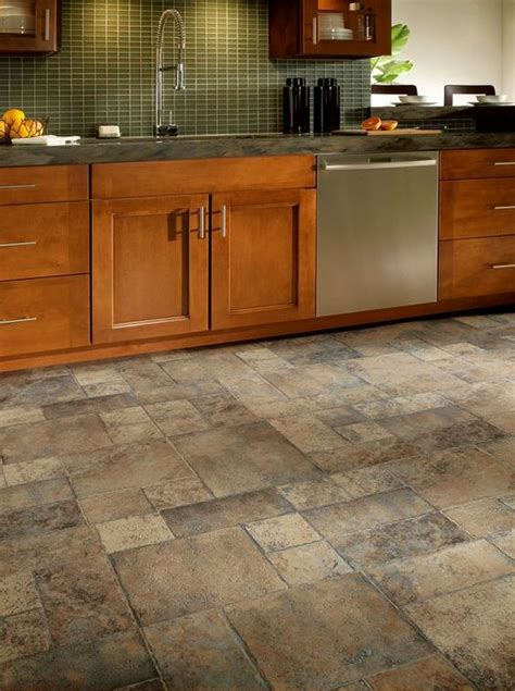 kitchen flooring 30 practical and cool looking kitchen flooring ideas digsdigs