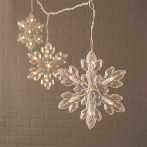 Snowflake Outdoor Lights No Dr 6203 01 Lights And Decor Snowflake String Lights Indoor Outdoor White