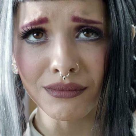 Lauren Nelson by Melanie Martinez Makeup Black Eyeshadow Gray Eyeshadow