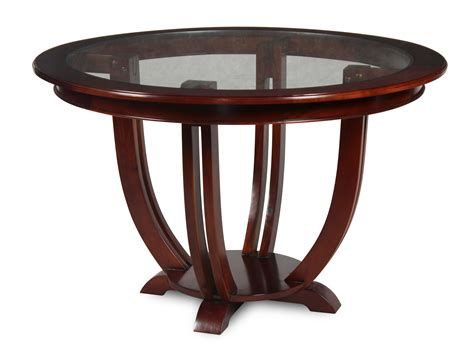 Tables For Entrance Halls Topolansky Hybrid Entrance Dining Table Glass Top