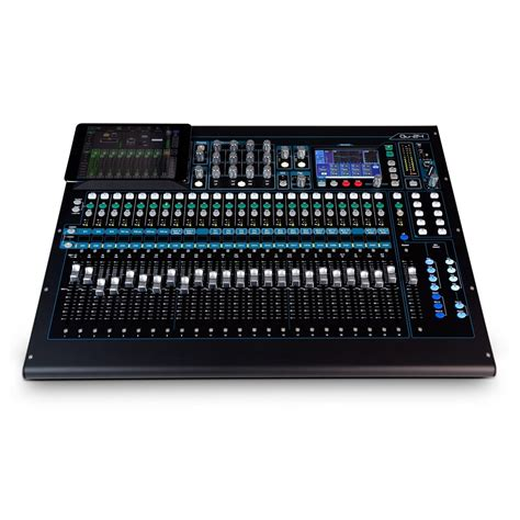Mixer Allen And Heath allen and heath qu 24 digital mixer krom udgave hos gear4music