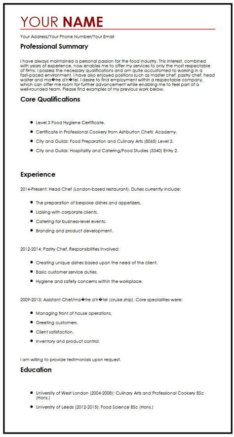 ideas collection personal profile resume sample creative