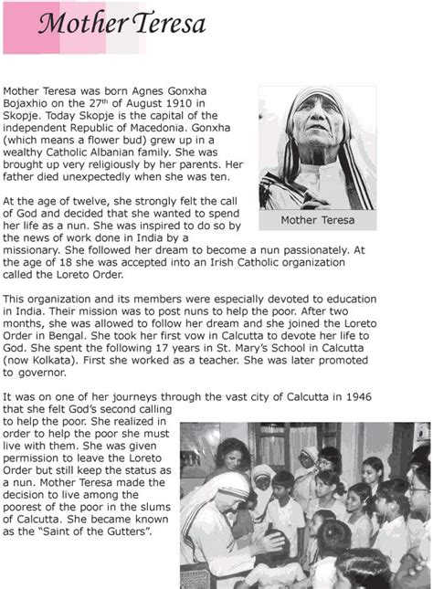 biography for mother teresa best 25 mother teresa biography ideas on pinterest