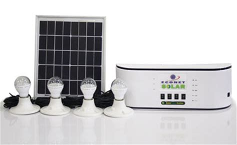 home solar power station econet solar s home power station some thoughts techzim