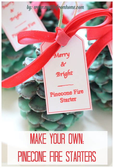 make your own pinecone fire starters diy fire starters