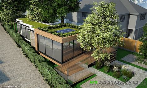 green home design uk architects build eco friendly home around trees to avoid