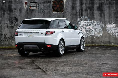 land rover range rover sport 2014 2014 range rover sport gets vossen wheels autoevolution