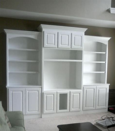 doug bolt woodworking built in bookcase and matching