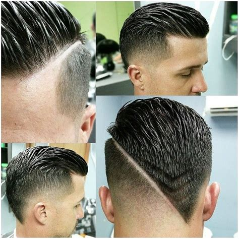 latest man haircut 2016 v shape 156 best images about razor hair parting on pinterest