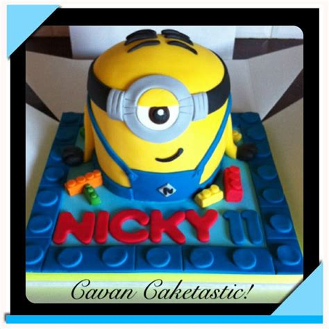 lego minion tutorial 60 best piece of cake cake s by abby benzie images on