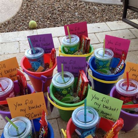 gift ideas for classroom students end of year gifts you fill my hospitality buckets and gift