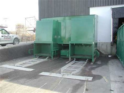 how does a trash compactor work video general waste stationary compactors cardboard compactors