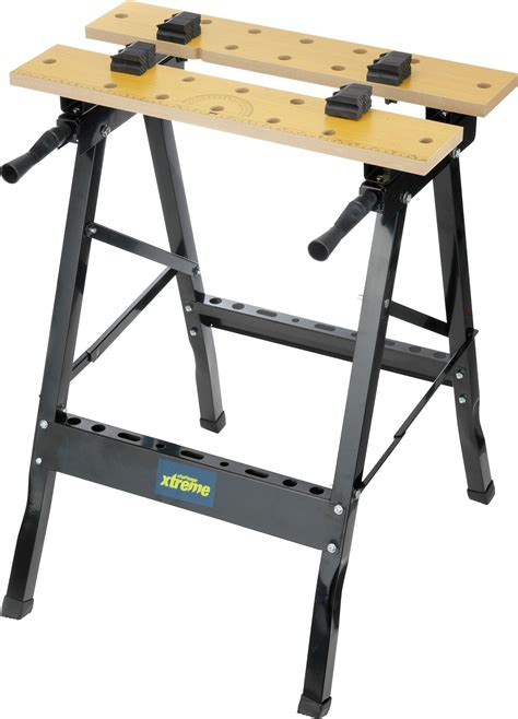 folding work benches challenge xtreme portable folding work bench