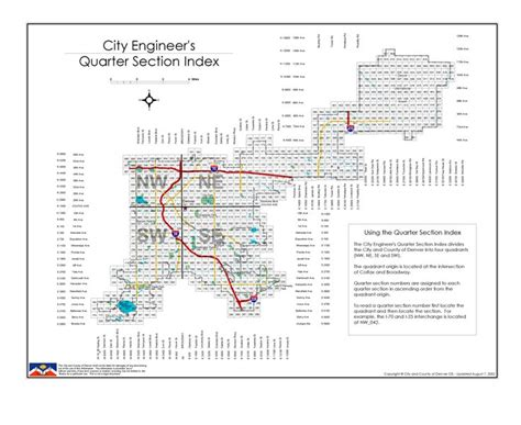 quarter section map denver engineers quarter section map colorado counties