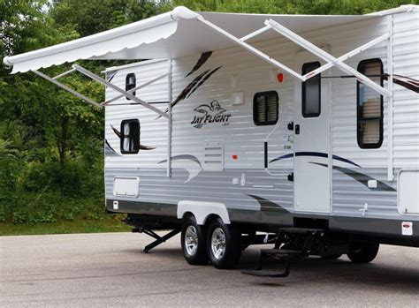 awning for trailer choosing the best rv retractable awning rvshare com