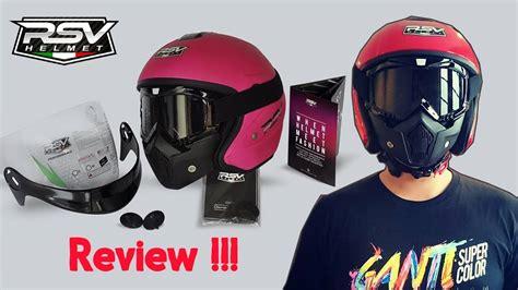 Helm Rsv Half rsv helmets helm half harga terjangkau juga kereen