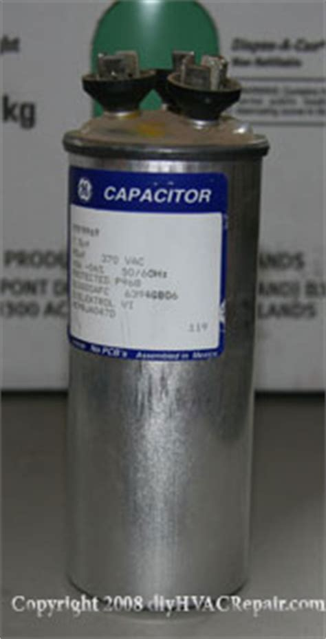 what does a capacitor do hvac capacitor replacement www diyhvacrepair
