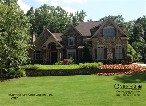french country house plans part 4 by garrell associates garrell associates inc burgandy house plan 00369 french