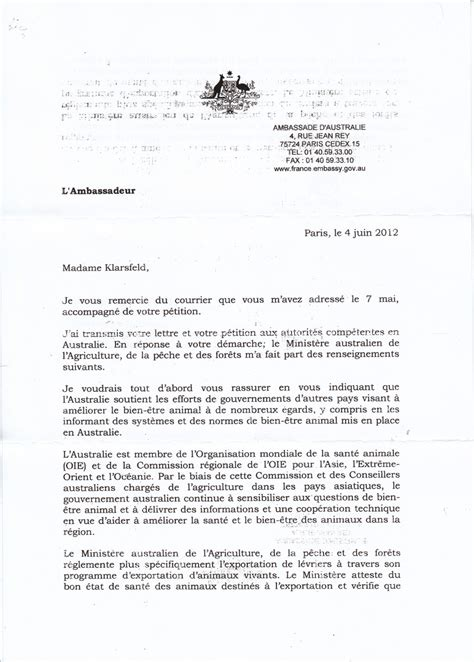 Lettre De Motivation Ambassade Visa Exemple De Lettre A Ambassadeur