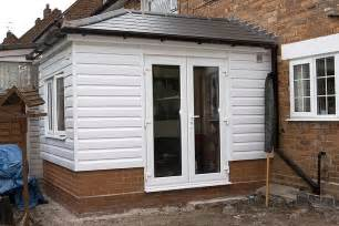 Cladded upvc clad timber framed extension diynot forums
