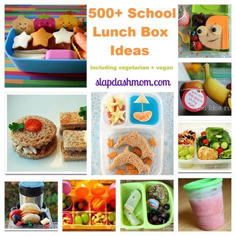 school ideas 500 school lunch ideas