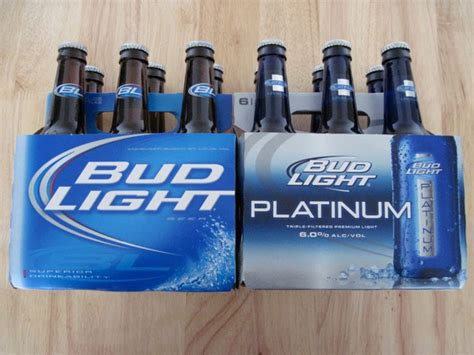 light vs bud light bottom shelf bud light platinum vs bud light
